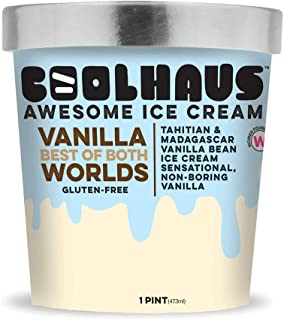 product image for Coolhaus Ice Cream, Best of Both Worlds Vanilla, 1 Pint