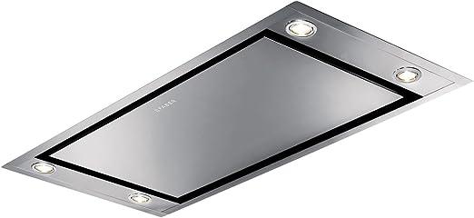 Faber – Campana extractora de techo Heaven 2.0 Flat - Acabado inoxidable - Medidas 90 cm: Amazon.es: Hogar