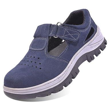 meilleure sélection 65927 9f141 FREEUP Sandale de Securite Femme en Cuir s3 Confortable ...