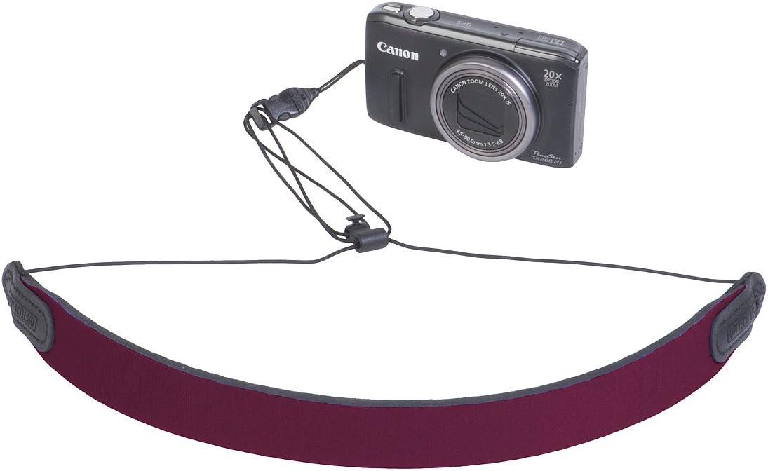OP//TECH USA 6922021 Mini Loop Strap QD Neoprene Neck Strap for Compact Cameras Skull