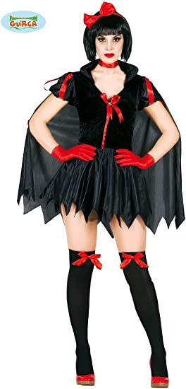 Disfraz de Blancanieves oscuro para mujer: Amazon.es: Juguetes y ...