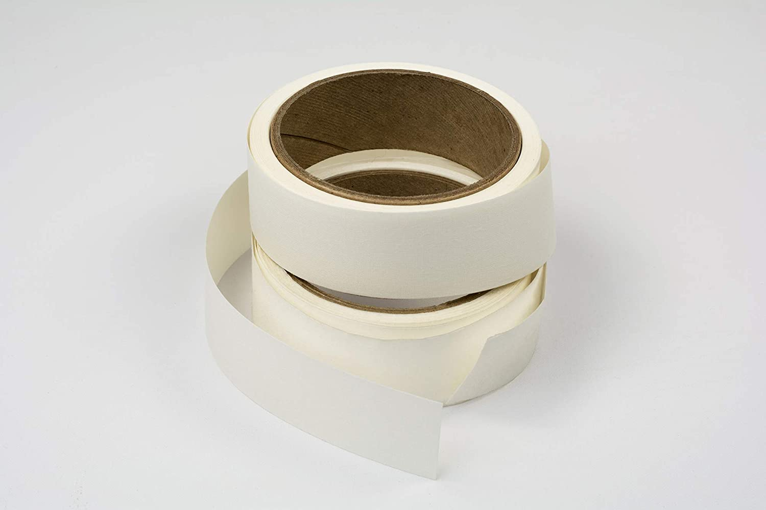 Lineco Self-Adhesive Hinging Tape Roll White, 1.25 inches X 150 Feet L533-1055 Acid-Free Linen Fabric