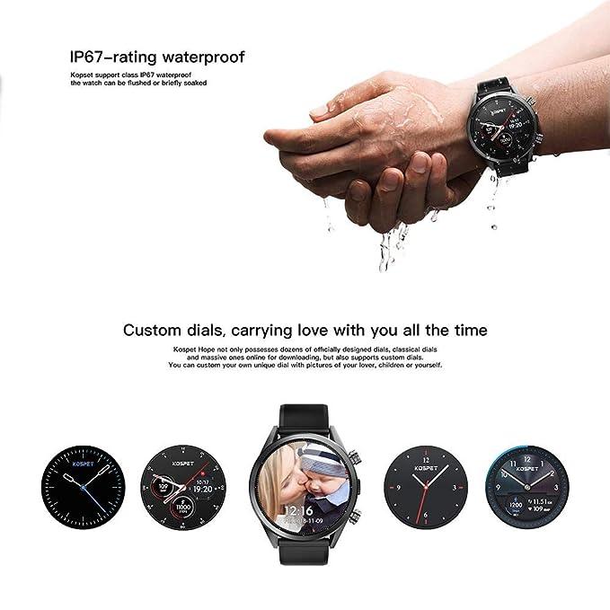 LayOPO Kospet Hope Reloj Inteligente de 4 g, 3 32 G de ...