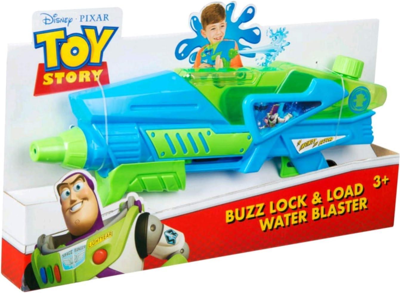 Sambro Pistola de Agua dispara y bloquea-Toy Story, Multicolor (DTS-3409)