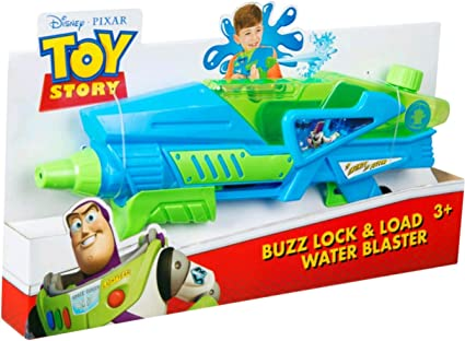 Toy Story Buzz Lightyear Twin Pack Water Blasters Pistols Age 3 Years Disney