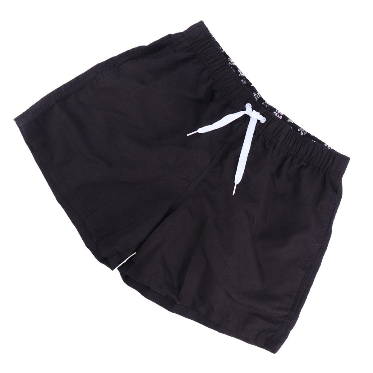 Costume da Bagno Sportivo da Esterno con Tasca da Surf Sky Blue Taglia XXL Clispeed Pantaloncini da Spiaggia da Uomo
