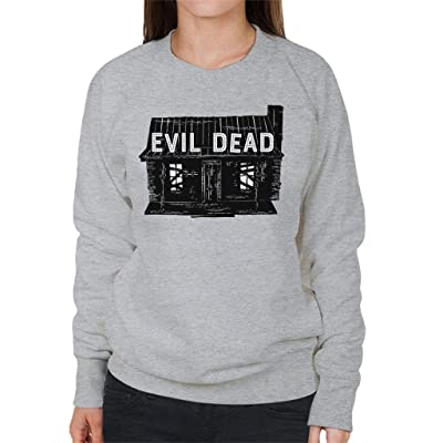 Cloud City 7 Evil Dead House Women's Sweatshirt: Ropa y accesorios