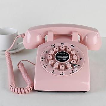 FACAIG Retro Telefon Festnetz Im Europäischen Stil Vintage In Europa Und In  Den Vereinigten Staaten Ländliche