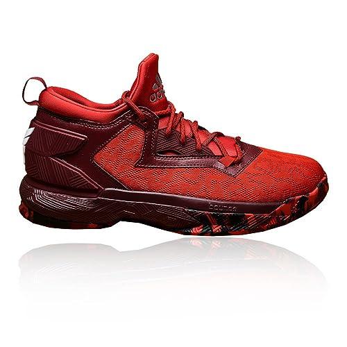 new product aba43 c87fd adidas D Lillard 2 Bounce Basketballschuhe Amazon.de Schuhe  Handtaschen