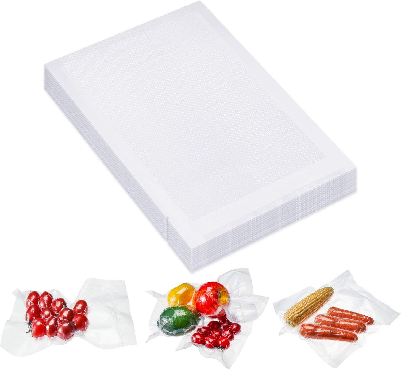 Outus 4 x 6 Inch Vacuum Heat-Seal Bags Vacuum Sealer Bags Pre-Cut Seal Bag for Food Preservation (120 Pieces)