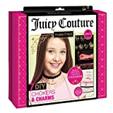 Make It Real – Juicy Couture Chokers & Charms. DIY Choker Jewelry Making Kit for Girls. Design and Create Girls Choker Necklaces with Juicy Couture Charms, Beads, Ribbons, and Chains