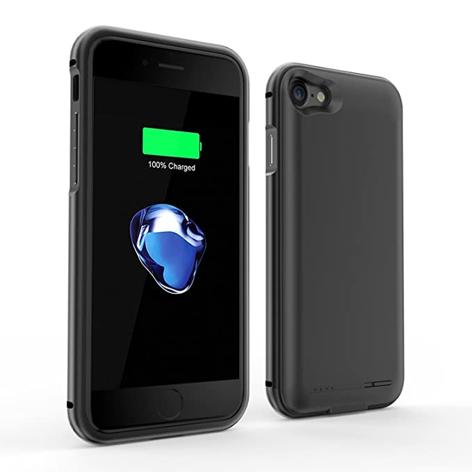 iPhone 7 recargable caso, buynow365 2800 mAh Ultra Slim ...
