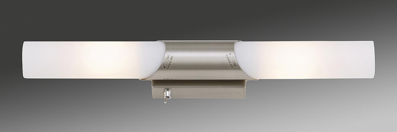 Badlampen wand  Briloner Leuchten Badezimmerlampe, Spiegelleuchte, Badlampe ...
