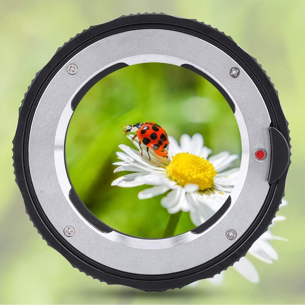 Camera Lens Adapter Ring Aluminum Alloy LM-SL//T Macro Focusing Lens Mount Adapter Ring Converter for Leica LM Mount Lens to for Leica SL//T Mount Camera