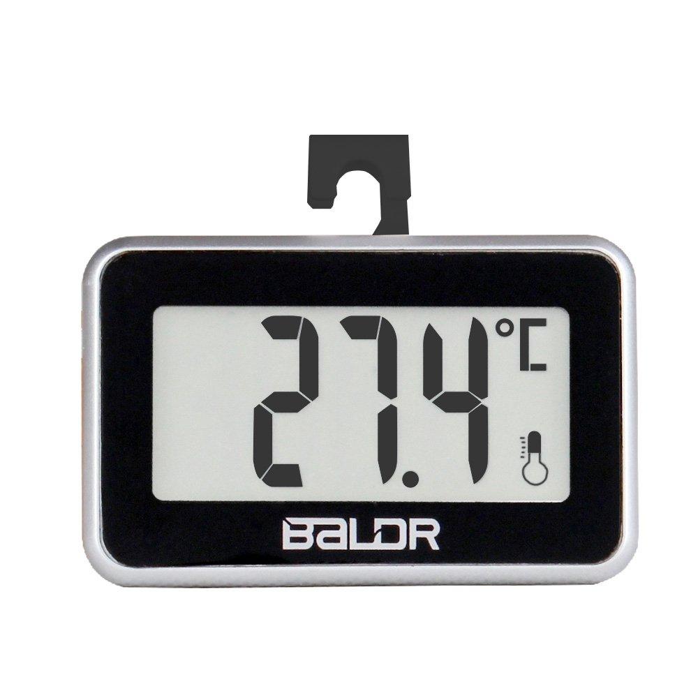 Balder frigorífico congelador termómetro Digital, negro: Amazon.es ...
