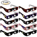 Eclipse Glasses -CE Certified Safe Shades for Direct safe Sun Viewing - Eye Protection