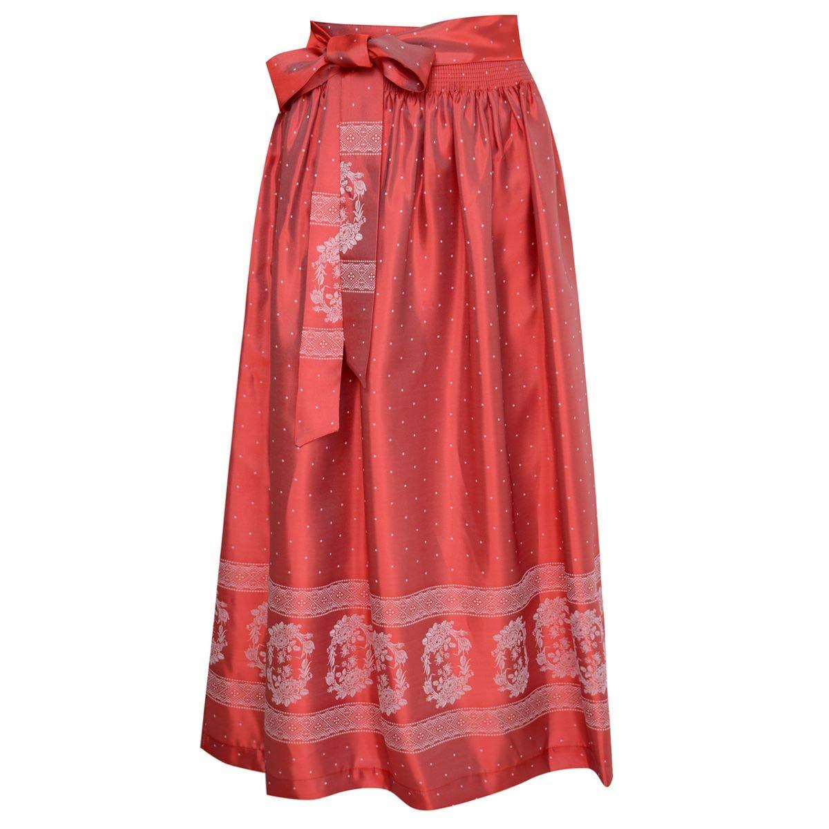 Country Line Damen Trachten-Mode Dirndlschürze Sabine in Rot Traditionell