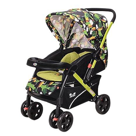 beautylife66 bebé niños cochecito carrito con ruedas para ...