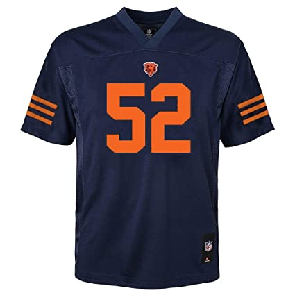 Outerstuff Khalil Mack Chicago Bears  52 Youth Mid-Tier Jersey Navy (Youth  Small 1d6df5df7