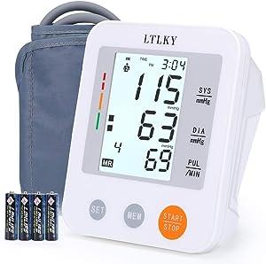 "Upper Arm Blood Pressure Monitor,Automatic BP Machine with 17"" Wide-Range Cuff"