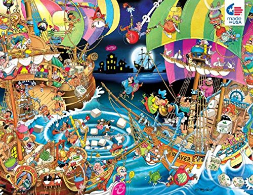 Ceaco Comic Relief Boston Tea Party Jigsaw Puzzle by Ceaco