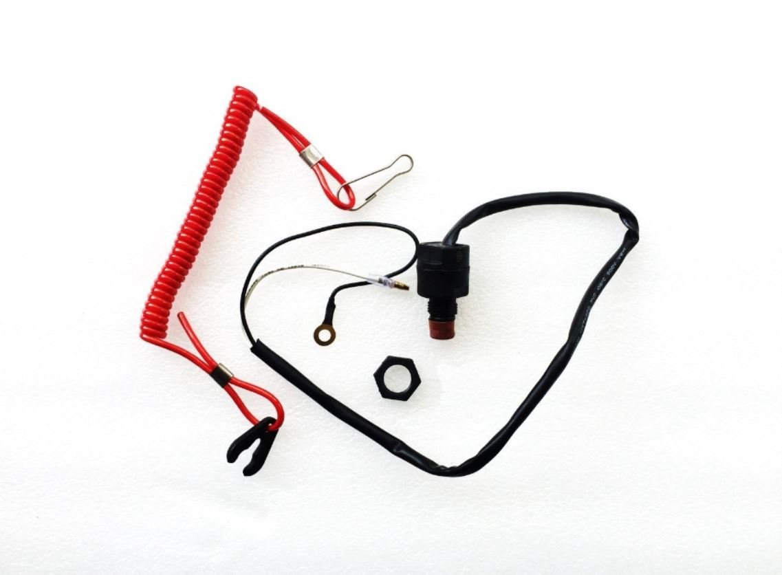 Emergency Safety Stop switch Assy Yamaha Outboard 6E9-82575 6H4-82575-00 63V-82575 Stopswitch