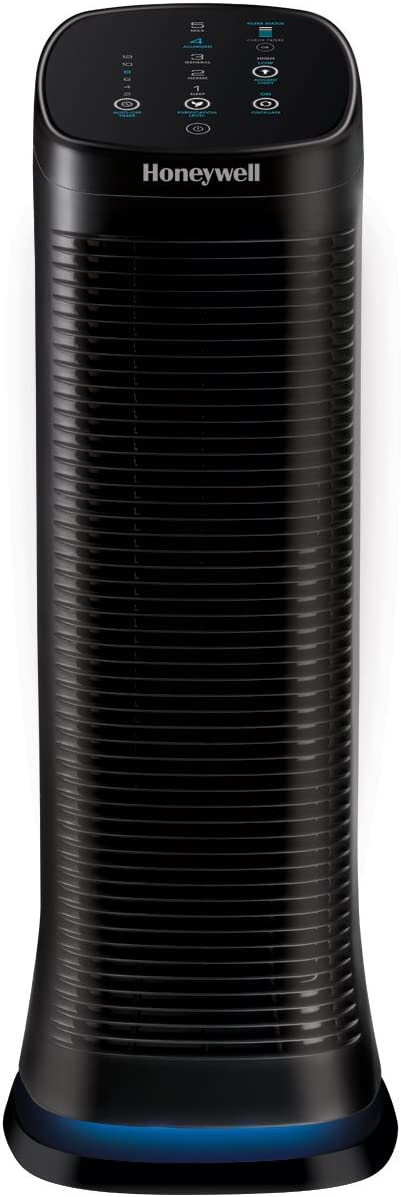 Honeywell AirGenius Air Purifier, 1-Pack, Black