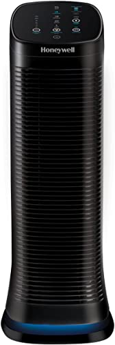 Honeywell HFD320 AirGenius 5 Air Cleaner Odor Reducer, Black