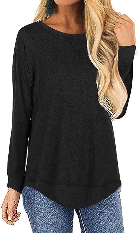 Meikosks Ladies Plus Size Blouses Cotton and Linen Tops Long Sleeve Floral Print T Shirt
