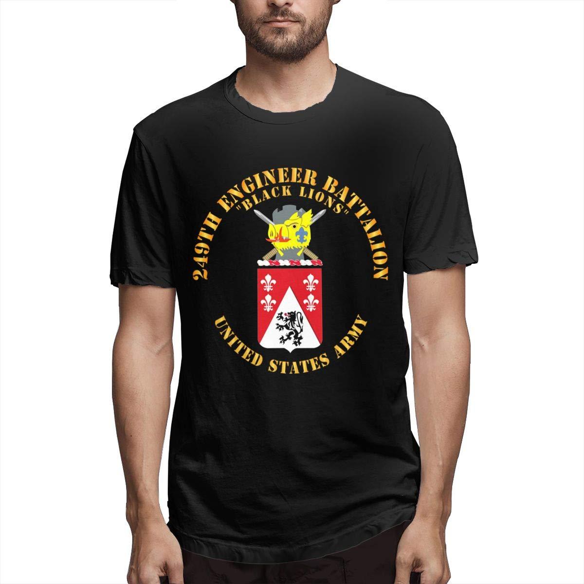 Peak Fashion Trade Coa 249th Engineer Battalion S Short Sleeve Tshirt