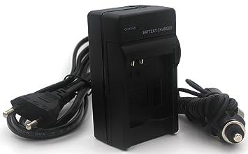 NB-6L Cargador para Canon PowerShot SX530 HS, SX610 HS, SX710 HS, SD1200 IS, SD1300 IS, S120 IXY 10S IXY 30S cámara y Más con Cable de alimentación de ...