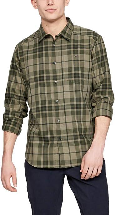 Under Armour 安德玛 Tradesman 吸湿速干 男式法兰绒衬衫 S码3.4折$20.24 海淘转运到手约¥158