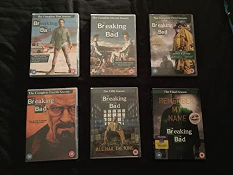 Breaking Bad the Complete Series 1-6 on DVD: Amazon.es: Cine y Series TV