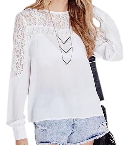 Vian Lundgaard - Camisas - Semitransparente - para mujer