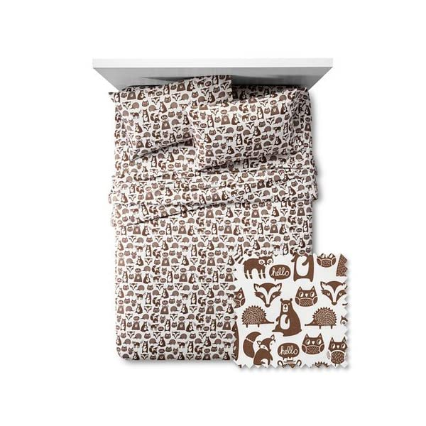 Forest-Friends-Sheet-Set-Pillowfort-Full