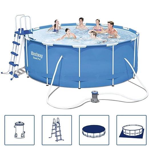 Bestway Bestway Juego de piscina hinchable (acero Pro marco ...