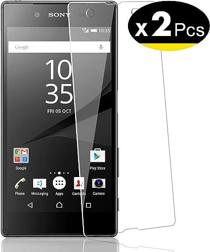 NEWC 2 Unidades, Protector de Pantalla para Sony Xperia Z5 ...