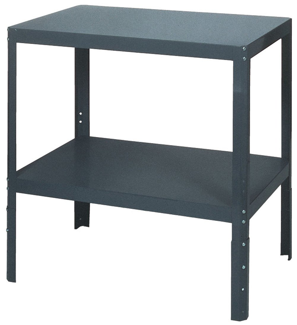 Edsal WT244830 Industrial Gray 16 Gauge Steel Multi-Purpose Work Table, 48'' Width x 36'' Height x 24'' Depth