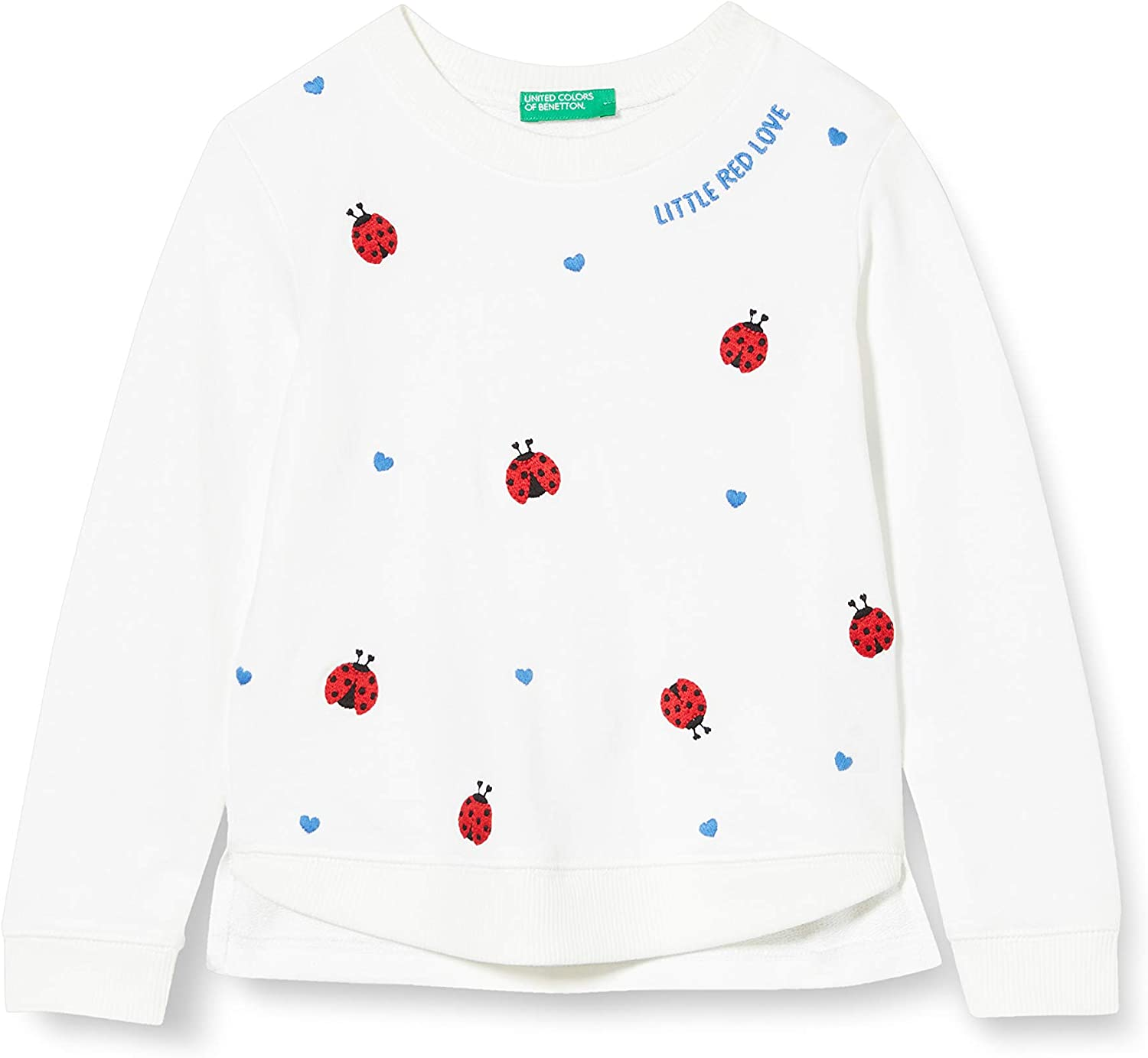 UNITED COLORS OF BENETTON Felpa Zip Gilet B/éb/é Fille