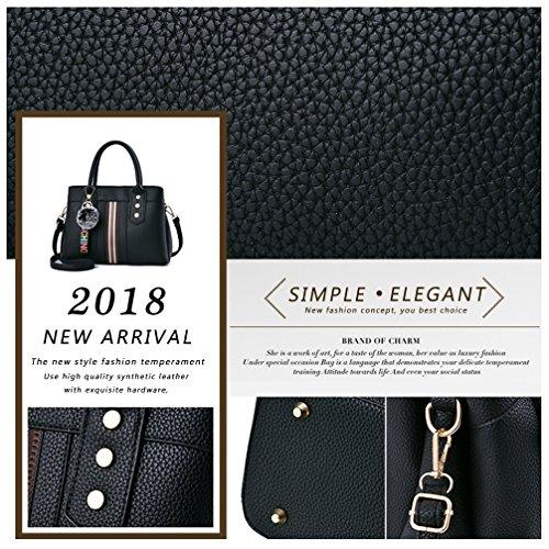 LoZoDo Womens Purses and Handbags Shoulder Bags Satchel Messenger Ladies Designer Tote Bag by LoZoDo (Image #6)