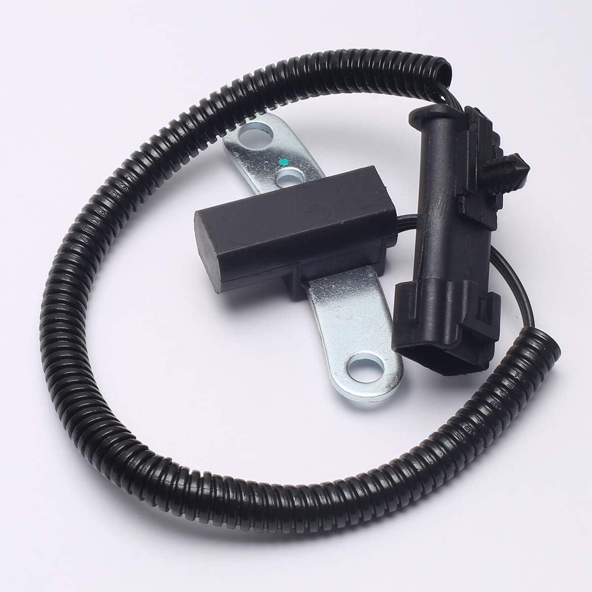Crankshaft Position Sensor for 1994-2004 Dodge Dakota Jeep Cherokee TJ Wrangler 2.5L Replace 56027865AB 56027865 SU3026 56027865AB 56027866 56027867AB 56041819AA 5S1717 PC169 96140 1802-247746