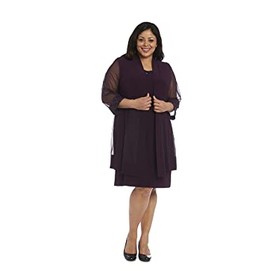 Rm Richards Mother Of The Bride Short Dress Plus Size Formal With