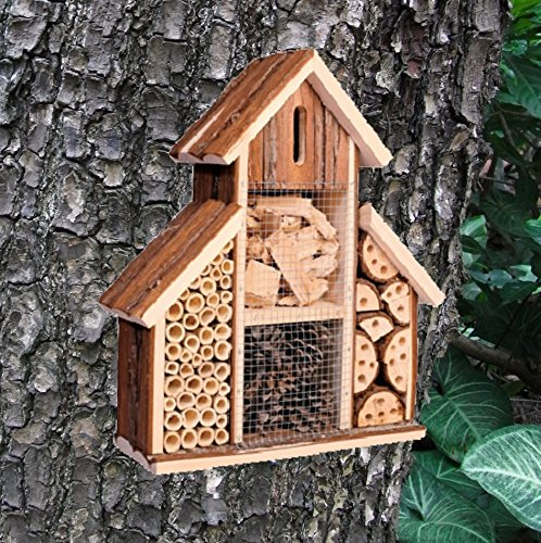 Heritage Fix On Insect Wooden Hotel Nest Home Bee Keeping Bug Garden Ladybird Box 2630 Heritage Pet Products