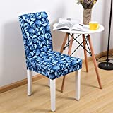 Home stretch Twin hotel dining tables and chairs back chair set cover European cloth seat upholstery stools set of simple universal 2-pack 13