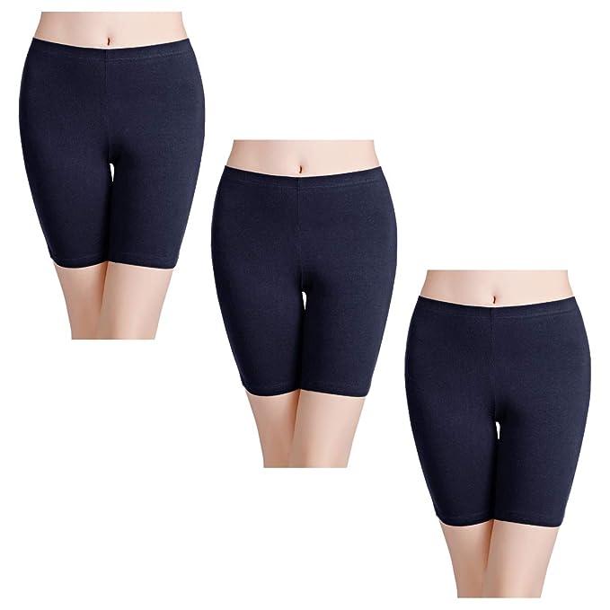 wirarpa Bragas Mujer Leggings Cortos Boxer Algodon Shorts ...