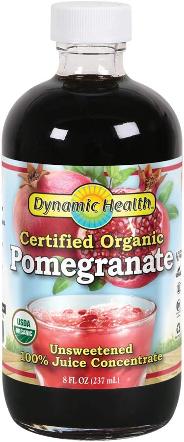 Dynamic Health Pomegranate Juice Concentrate | No Additives or Preservatives | Antioxidant | 8oz