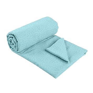 Manta de yoga estera de yoga toalla antideslizante ...