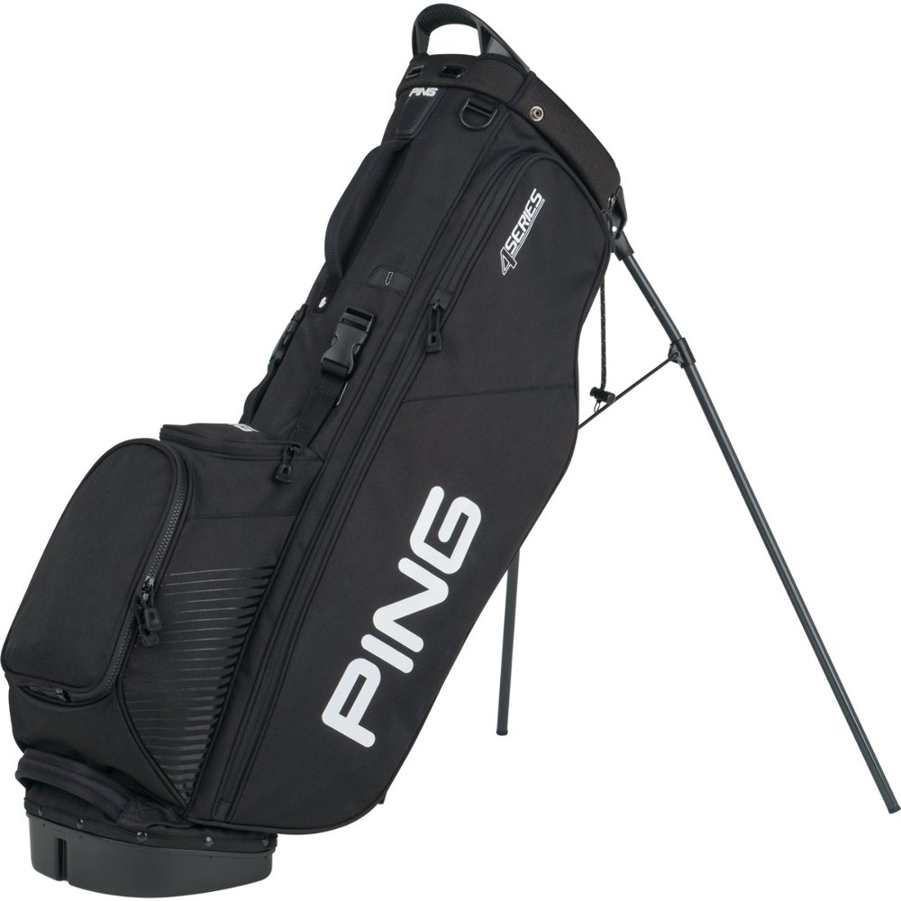 NEW Ping 4 Series Black Golf Carry Stand Bag