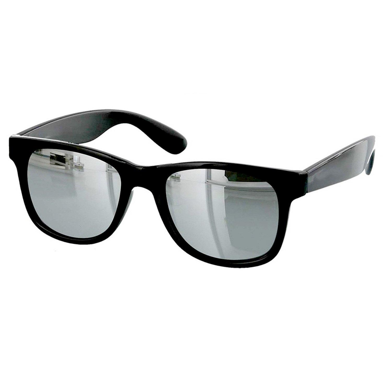 6418d9cae2c Younky Combo Of Uv Protected Branded Mercury Wayfarer Sunglasses For Men  Women Boys   Girls ( Silver Wayfarer- Clear Wayfare ) - 2 Sunglass Case   Amazon.in  ...