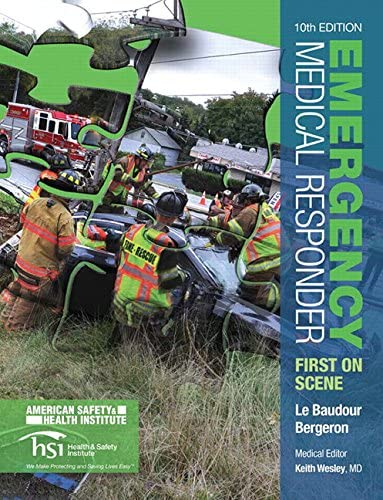 Emergency care and first responder tests and quizzes emergency medical responder first on scene 10th edition emr fandeluxe Gallery